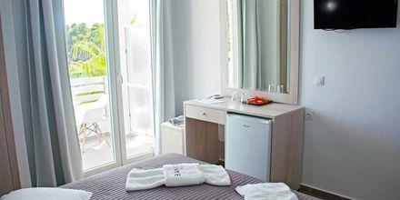 Dubbelrum på hotell Bianco i Parga, Grekland.