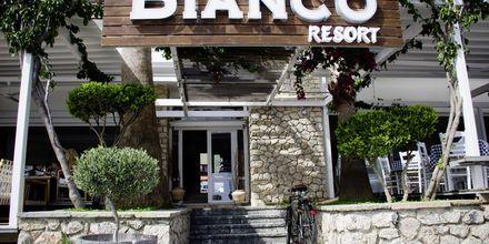 Hotell Bianco i Parga, Grekland.