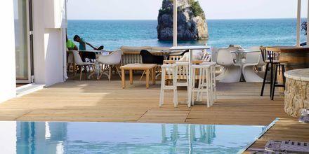 Pool på hotell Bianco i Parga, Grekland.