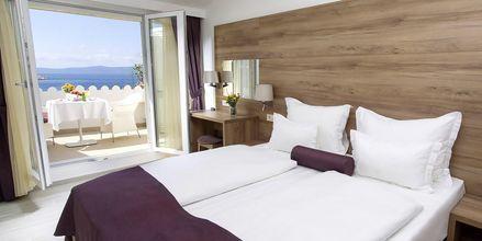 Dubbelrum på hotell Biovoko i Makarska, Kroatien.