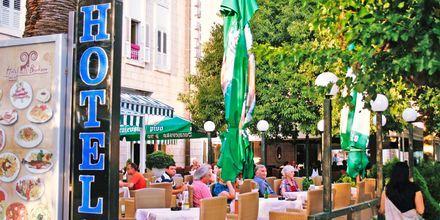Restaurang på hotell Biovoko i Makarska, Kroatien.