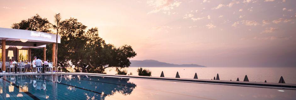 Hotell Blue Dome i Platanias, Kreta.