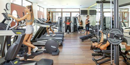 Gym på Blue Lagoon Resort på Kos, Grekland.