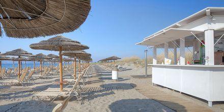 Stranden vid Blue Lagoon Resort på Kos, Grekland.