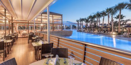 Restaurang på Blue Lagoon Resort på Kos, Grekland.