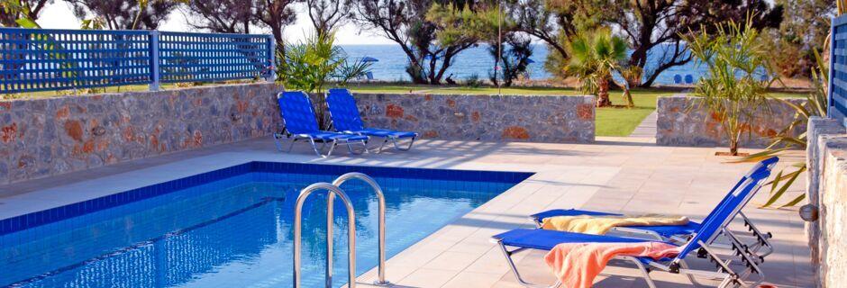 Hotell Blue Sea Villas i Platanias, Kreta.