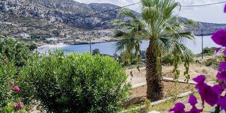 Utsikt från Blue Swan på Karpathos.