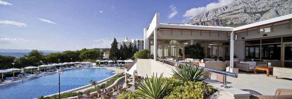 Hotell Bluesun Afrodita i Tucepi, Kroatien.