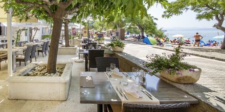 Restaurang Katelet på hotell Bluesun Alga i Tucepi, Kroatien.