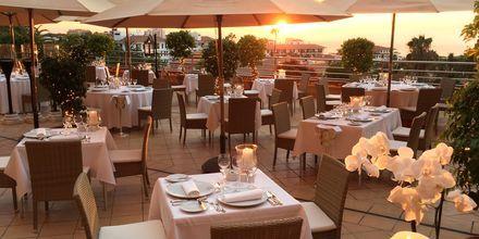 Restaurang på hotell Botanico i Puerto de la Cruz, Teneriffa.