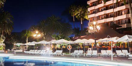 Poolområde på hotell Botanico i Puerto de la Cruz, Teneriffa.