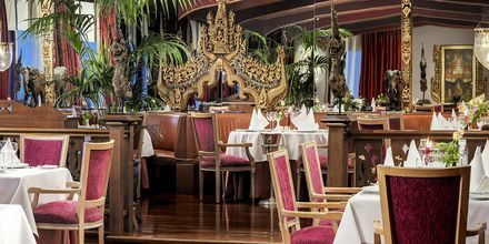 Asiatiska restaurangen The Oriental på hotell Botanico.