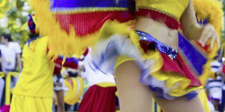 Karneval i Rio.