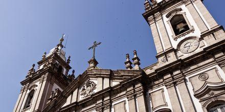Candelaria-katedralen i Rio de Janeiro.
