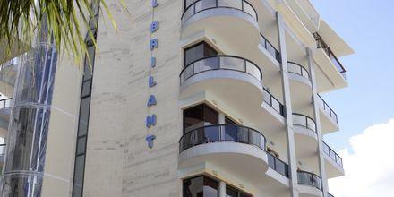 Hotell Brilant i Saranda, Albanien.