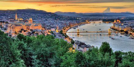 Budapest, Ungern - en av Europas hetaste storstäder.