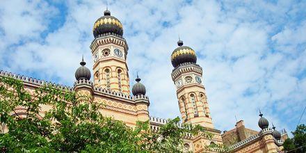Budapests stora synagoga är Europas största synagoga.