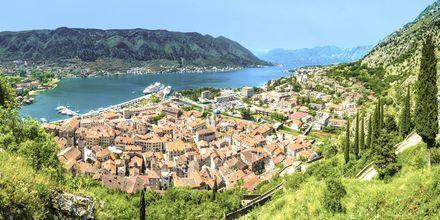 Den Unesco-skyddade staden Kotor.