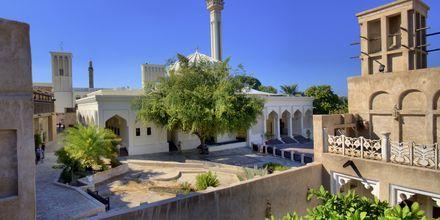 Bastakia i Bur Dubai, Förenade Arabemiraten.