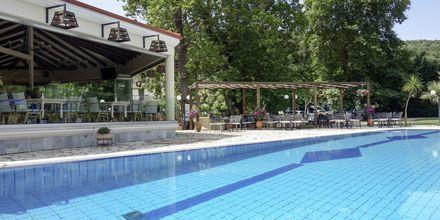 Pool på hotell Byzantion i Parga, Grekland.