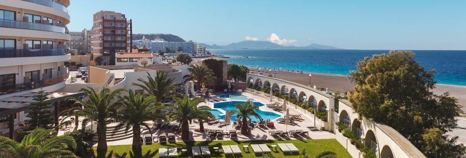 Hotell Cactus i Rhodos stad, Grekland.