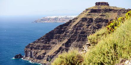 Calderan och Egeiska havet, Santorini.