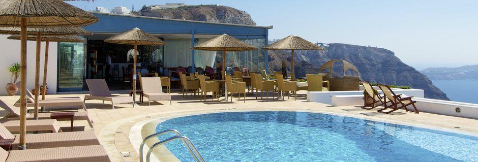 Hotell Caldera's Lilium på Santorini, Grekland.