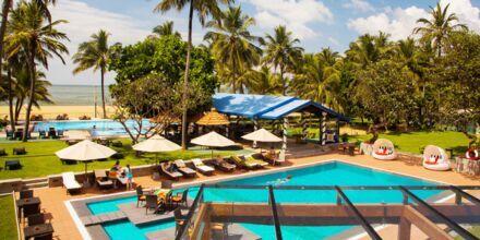 Hotell Camelot Beach i Negombo på Sri Lanka.