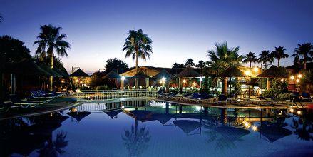 Poolområdet på hotell Can Garden Beach i Side, Turkiet.