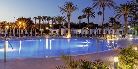 Poolområde på hotell Canary Garden Club i Maspalomas på Gran Canaria.