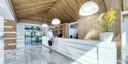 Reception på hotell Canary Garden Club på Gran Canaria.