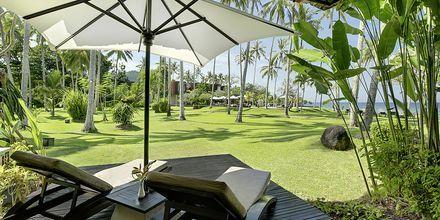 Deluxerum på Candi Beach Resort & Spa, Bali.