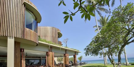 Restaurang Biru på Candi Beach Resort & Spa, Bali.