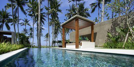 Enrumsvilla på Candi Beach Resort & Spa, Bali.