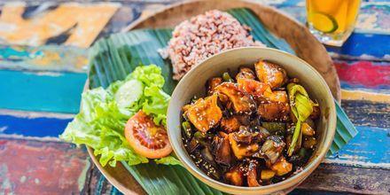 Klassisk mat på Bali.