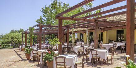 Restaurang på hotell Candia Park Village i Agios Nikolaos på Kreta.
