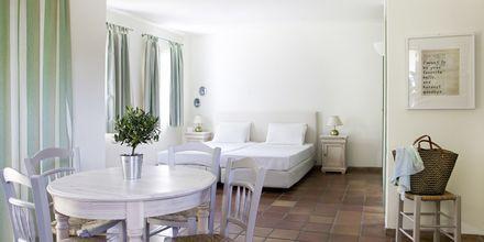 Enrumslägenhet på hotell Candia Park Village i Agios Nikolaos på Kreta.