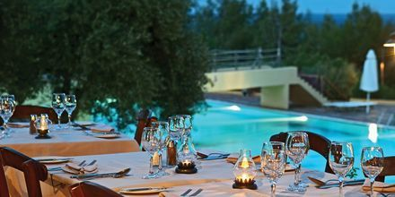 Restaurang Agapi hotell Candia Park Village i Agios Nikolaos på Kreta..