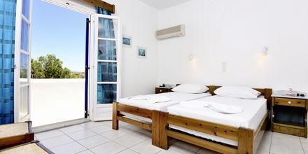 Tvårumslägenhet på hotell Captain Nicolas i Naoussa på Paros.