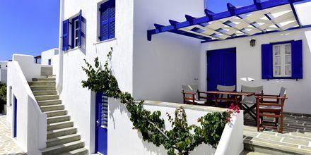 Hotell Captain Nicolas i Naoussa på Paros, Grekland.