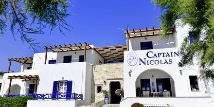 Hotell Captain Nicolas på Paros, Grekland.
