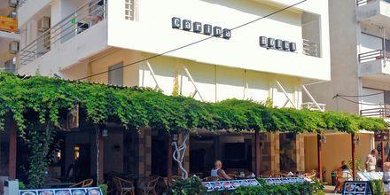 Hotell Carina i Rhodos stad, Grekland.