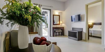 Trerumslägenhet på hotell Casa di Porto på Kreta, Grekland.