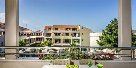 Tvårumslägenhet på hotell Casa di Porto på Kreta, Grekland.