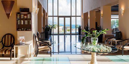 Lobby på hotell Cavo Spada Deluxe & Spa, på Kreta, Grekland.