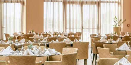 Bufférestaurang på hotell Cavo Spada Deluxe & Spa, på Kreta, Grekland.