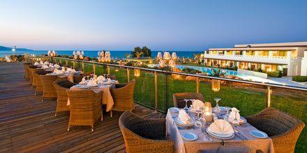 Restaurang på hotell Cavo Spada Deluxe & Spa, på Kreta, Grekland.