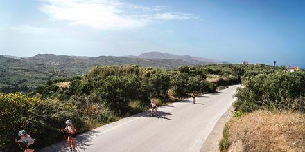 Rullskidor på hotell Cavo Spada Deluxe & Spa, på Kreta, Grekland.