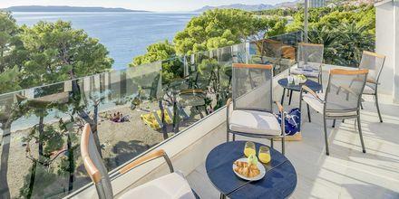Hotell Central Beach 9 i Makarska, Kroatien.