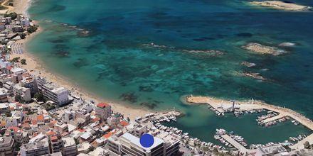 Skissbild på hotell Chania Flair i Chania stad på Kreta, Grekland.